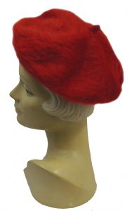 New Ladies Vintage 1940s 1950s style Plain Soft Angora Berets Hat